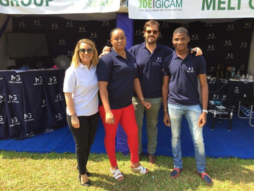 Melt Group asiste las Jornadas de la Empresa 2016 de GICAM, Camerún